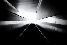 Illuminated Moving Walkway