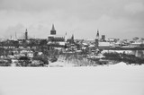 Fototapeta Londyn - Chelmno ,Stolica ziemi chelminskiej w zimowym przebraniu