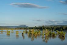 Mekong River Near Khong Chiam, Thailand