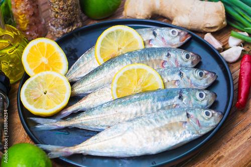 Round scad fish Slika na platnu