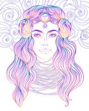 Illustration Of Aries Astrolog...
