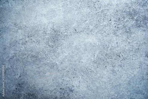 Obraz na plátně Gray stone table
