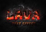 Lava Text Effect - 338914061