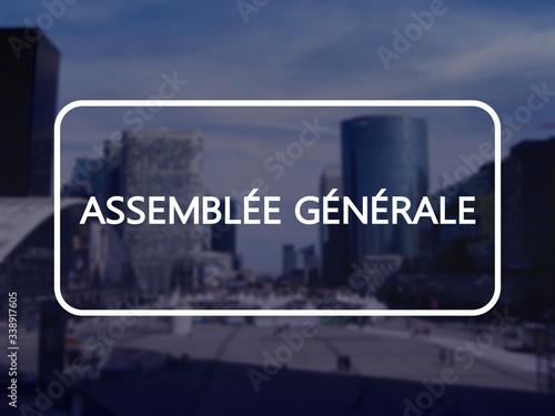 Photo Assemblée générale