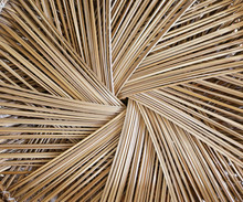 A Close Up  Image Of Wicker Ba...