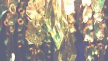 Close Up View Of Transparent Crystals