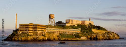 Photo Alcatraz At Sunset