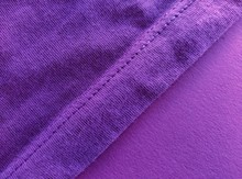 Close-up Of Purple Textile