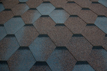 Roof Tiling Texture. Soft Roof...