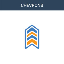 Two Colored Chevrons Concept V...