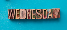 Wednesday Word Written With Wo...