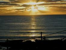 Idyllic View Of Yellow Sunset ...