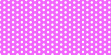 Middle Purple Polka Dots Backg...