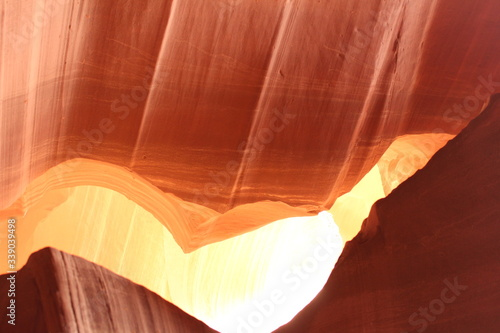 Rock Formation In Antelope Canyon Fototapete