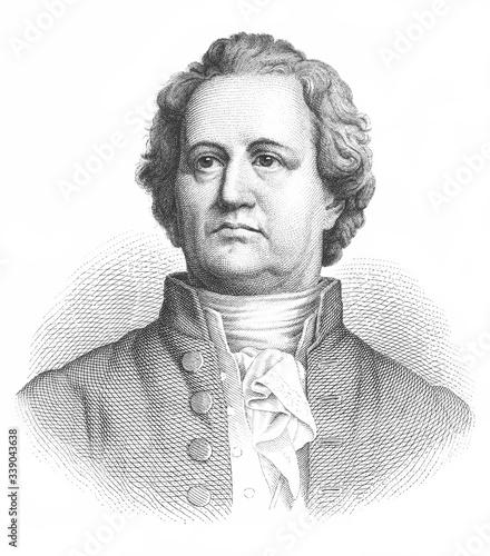 Johann Wolfgang Goethe Wallpaper Mural