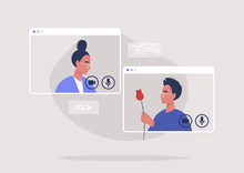 Online Dating Platform, Modern...