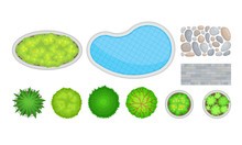 Landscape Design Elements With...