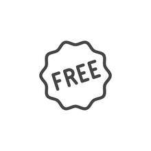 Free Line Icon. Gift Or Presen...