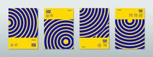 Minimal Covers Design. Future Circle Geometric Patterns. Eps10 Vector.