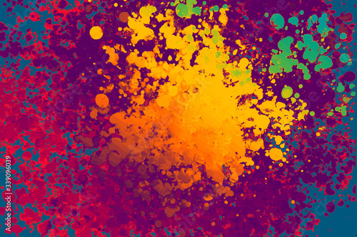 Abstract colorful grunge wallpaper background with texture Wallpaper Mural
