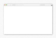 Mock-up Blank Browser Window F...