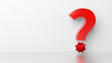 Red Question Mark Coronavirus ...