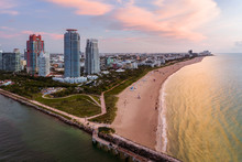 Aerial View Of South Pointe At...