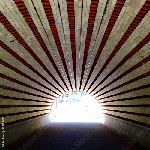 Fotografia Light At The End Of The Tunnel