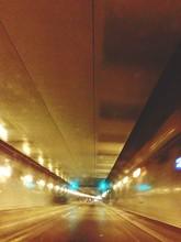 Illuminated Caldecott Tunnel
