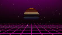 Retro Cyberpunk Style 80s Game...