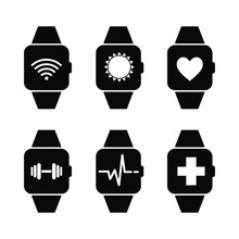 Smart Watch Wearable With Apps...