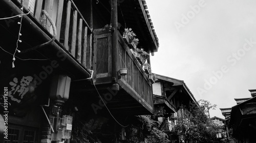 Low Angle View Of Residential Building - fototapety na wymiar
