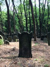 Tombstones At Warsaw Jewish Ce...