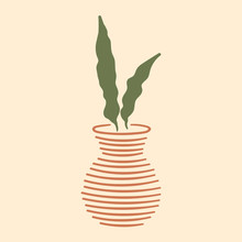Modern Minimal Style Potted Pl...