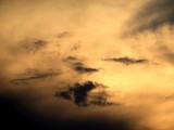 Fototapeta Na sufit - Złote niebo