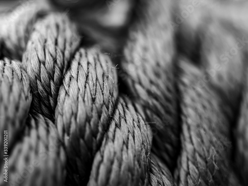 Fotografering close up of rope