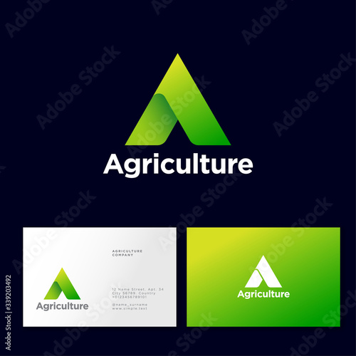 Agriculture Company logo Wallpaper Mural