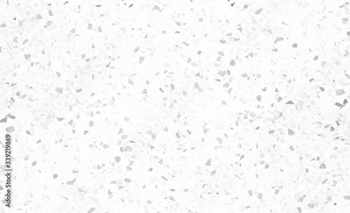 Terrazzo flooring marble stone wall texture abstract background. White terrazzo floor tile on cement surface
