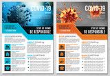 COVID-19 Flyer Layout  - 339226204