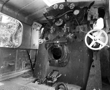 Interior Of Steam Engine