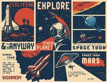 Vintage Universe Posters Colle...