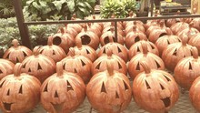 Ceramic Pumpkin Shaped Jack O ...