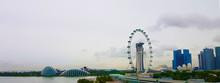 A Skyline Of Singapore City Du...