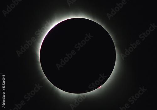Zaćmienie Słońca USA 2017 Fototapet