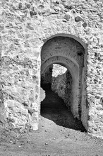 Arch Entrance Of Fort