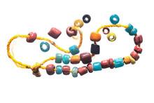 Colorful Ancient Beads Dvarava...