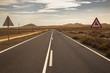 Lonely Highway on fuerteventura