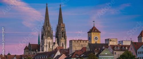 Foto Der historische Dom von Regensburg