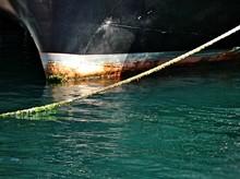 Ship Moored In Sea