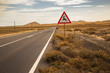 Desert Road in Fuerteventura